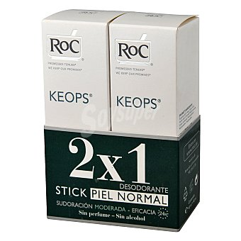 RoC Duplo desodorante en roll-on Keops 60 ml