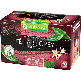 Intermón Oxfam Té earl grey biológico Comercio Justo envase de 78 g