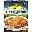 Lomo con pimientos-tomate Bandeja 250 g Carretilla