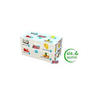Kalise Surtido yogur sabor coco, fresa, limón y macedonia Pack 16 x 125 g