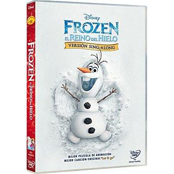 Disney Frozen : El Reino Del Hielo. Versión Sing Along DVD