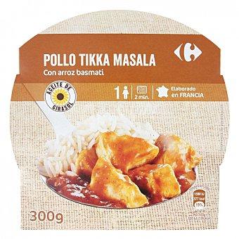 Tikka masala Pollo con arroz basmati Carrefour 300 G 300 g