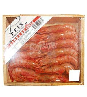 Peix de Santa Pola Gamba de Costa 45/55 Bandeja de 300 gr