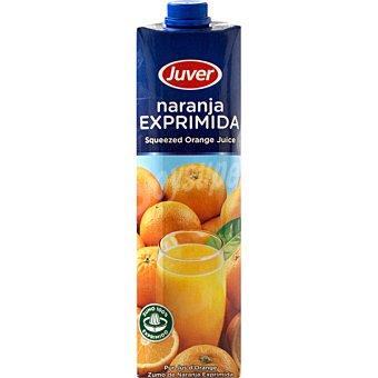 Juver Zumo de naranja exprimida Envase 1 l