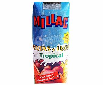 Millac Leche con frutas tropical 33 cl