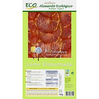 Bioomnibus Lomo embuchado en lonchas alimento ecológico Envase 100 g