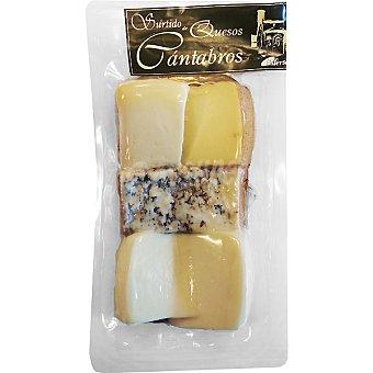 Lisfersa Tabla de quesos cántabros Envase 200 g
