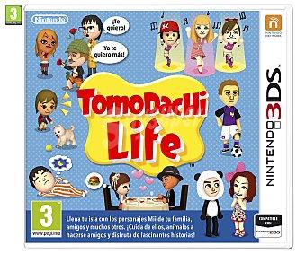 SIMULACIÓN Videojuego Tomadachi Life para Nintendo 3DS, 3DSXL. Género: Simulación. Recomendación por edad pegi: +3 - 1 Unidad 1u