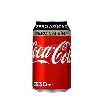 Coca-Cola Zero zero Lata 33 cl
