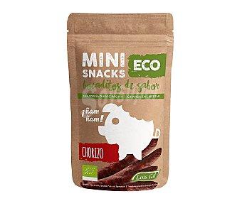 Luis gil Mini snacks de chorizo ecológico 40 g