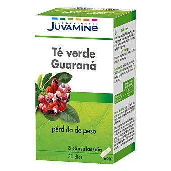Juvamine Té guaraná adelgazante cápsulas 90 ud