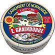 E. queso camembert elaborado con leche cruda D.O.P Normandia pieza 250 g Graindorge