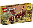 Juego de construcciones 3 en 1 con 223 piezas Criaturas míticas, Creator 31073 lego  LEGO