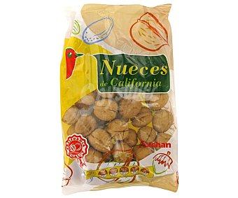 Auchan Nueces con cáscara de California auchan 600 gramos