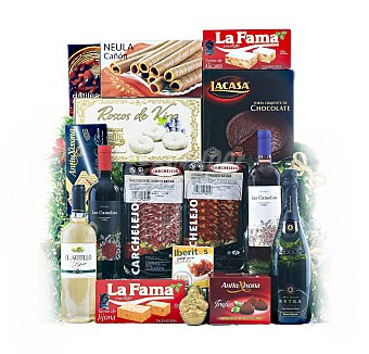 Cesta navidad Cesta navideña de Bellod, lote nº6