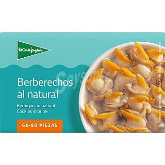 Aliada Berberechos al natural de las rías gallegas 60-80 piezas Lata 63 g neto escurrido