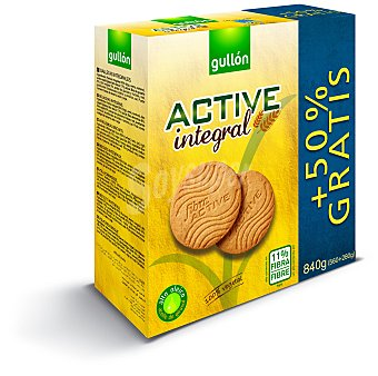 Gullón Galletas integrales con fibra 'active' 560 g