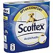 Papel higiénico acolchado Paquete de 9 rollos Scottex
