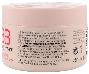 Natural Honey Crema corporal piel perfecta 250 mililitros