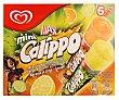 Helado calippo mini naranja / limón Caja 6 uds 480 ml Frigo