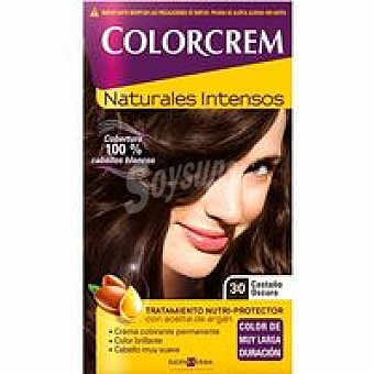 Colorcrem Tinte castaño oscuro N.30 Caja 1 unid