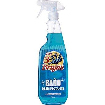 LAS 3 BRUJAS limpiador antical desinfectante baño pistola 750 ml