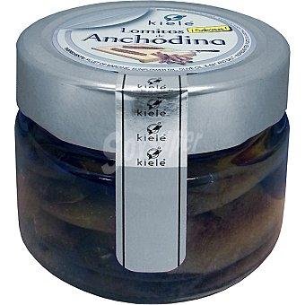 Kiele Lomitos de anchodina con aceite de oliva Tarrina 70 g neto escurrido