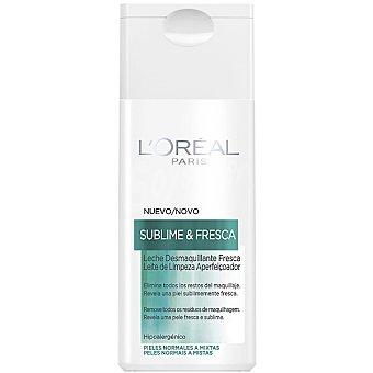 Dermo Expertise L'Oréal Paris Leche limpiadora desmaquillante Sublime & Fresca piel normal a mixta frasco 200 ml Frasco 200 ml