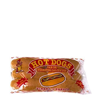 Paybo Pan Hot Dog 6 Unidades
