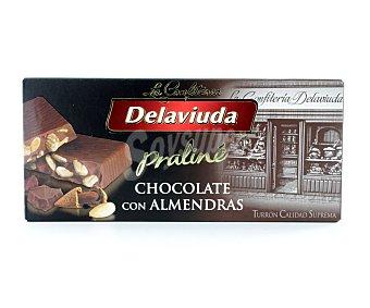 Delaviuda Turrón de chocolate con almendras 300 G 300 g