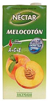 Hacendado Nectar melocoton (con valor energetico reducido) Brick 1 l