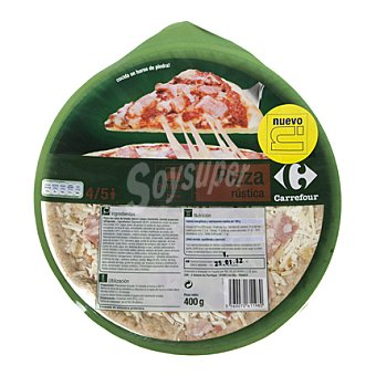 Carrefour Pizza rustica 400 g