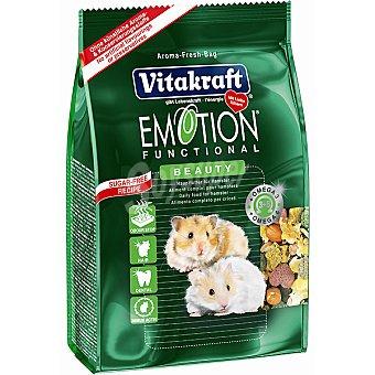 Vitakraft Alimento premium para hámsteres Paquete 600 g