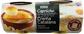 Hacendado Crema catalana Pack 4 x 100 g - 400 g