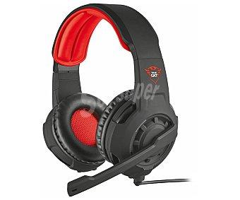 Trust Auriculares gaming micrófono, control volumen, conexión jack 3.5 mm, compatible PC / xbox / PS4 / switch GXT 310 Radius