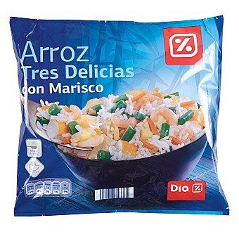 DIA Arroz 3 delicias con marisco Bolsa 700 gr