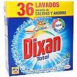 Detergente máquina en polvo maleta 36 lavados 36 lavados Dixan