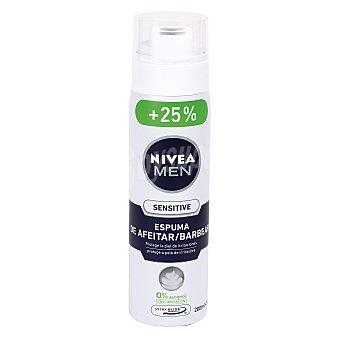 Nivea For Men Espuma de afeitar sensitive para hombre Bote 250 ml