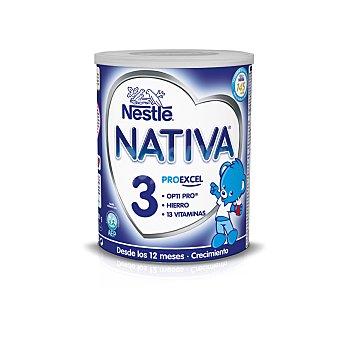 Nativa Nestlé Leche infantil crecimiento 3 bote 800 gr 3 bote 800 gr