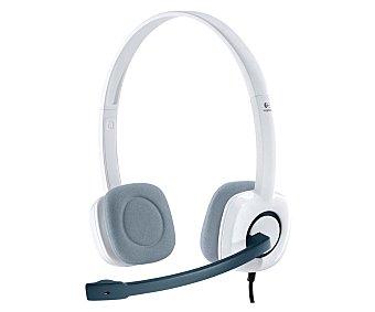 Logitech Auriculares con micrófono H150, conexión doble clavija Jack 3,5mm conexión doble clavija Jack 3,5mm