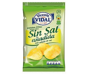 Vidal Patatas fritas sin sal 140 g