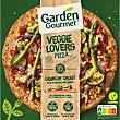 Pizza con hortalizas, maíz y salsa de coliflor Veggie Lovers 430 g Gourmet Garden