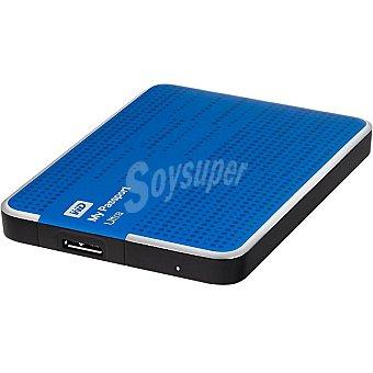 WESTER Disco Duro Externo My Passport 1TB en color azul