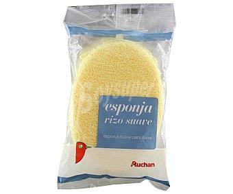 Auchan Esponja rizo suave 1 unidad