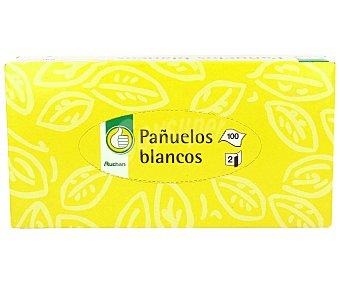 Productos Económicos Alcampo Pañuelos de celulosa Paquete de 100 unidades