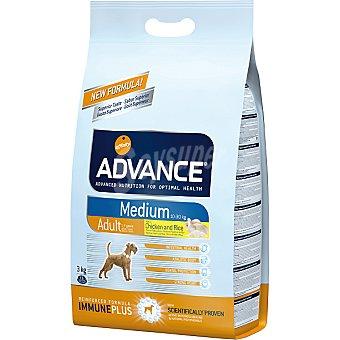 Advance Affinity Alimento de alta gama para perros de raza mediana rico en pollo y arroz Medium Adult Bolsa 3 kg
