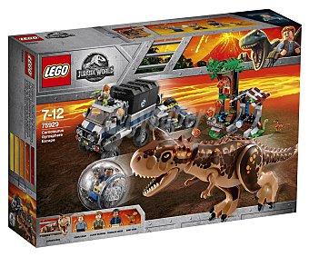 LEGO Jurassic World 75929 Construcciones 577 piezas Huida del Carnotaurus en la girosfera, Jurassic World 75929 LEGO.