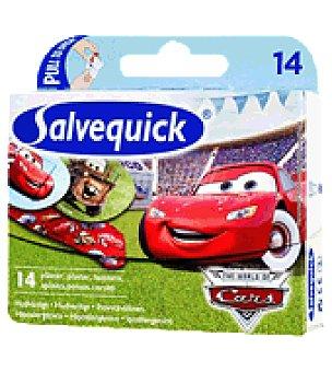 Salvequick Tiritas cars 14 ud
