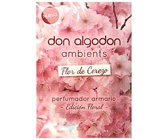 Don Algodón Ambientador perfumador de armario flor de cerezo Envase 1 unidad