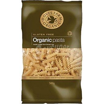 DOVES FARM ORGANIC Fusilli de arroz integral sin gluten Envase 500 g